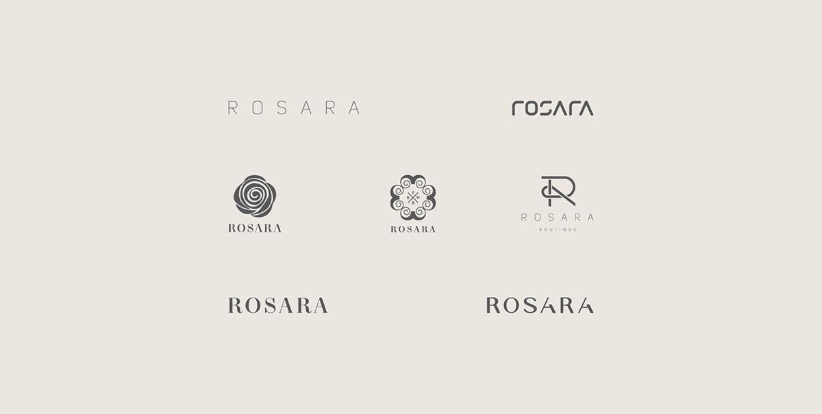 Tư vấn thương hiệu, thiết kế hệ thống nhận diện thương hiệu Rosara