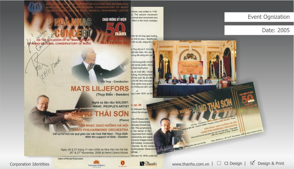 Hoà nhạc Đặng Thái Sơn - Học viện âm nhạc Quốc gia VN