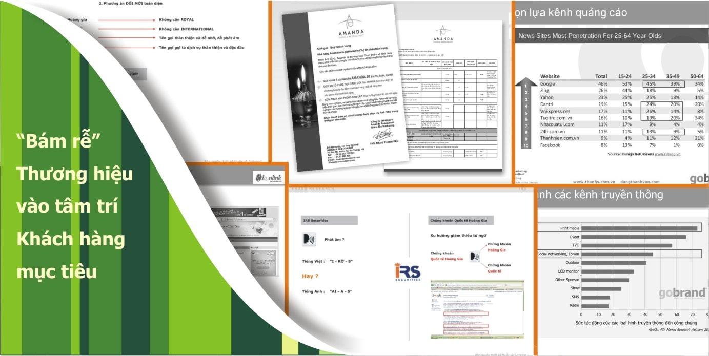 Tư vấn chiến lược thương hiệu, chiến lược Marketing - Thanhs Branding