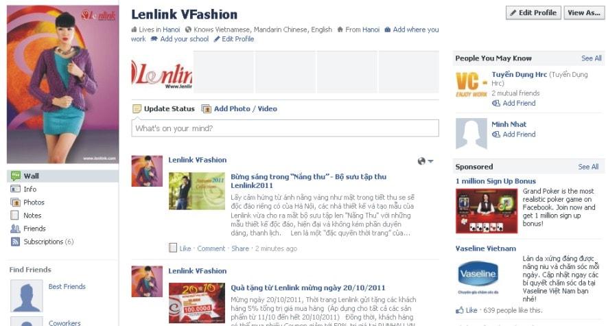 Quản lý Blog, viết bài PR thương hiệu Lenlink