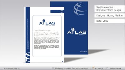 Sáng tạo Slogan và thiết kế nhận diện thương hiệu ATLAS