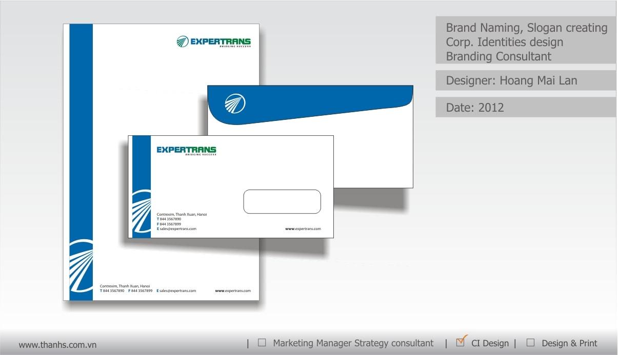 Đặt tên thương hiệu Expertrans - Dịch thuật toàn cầu - Thanhs Brand