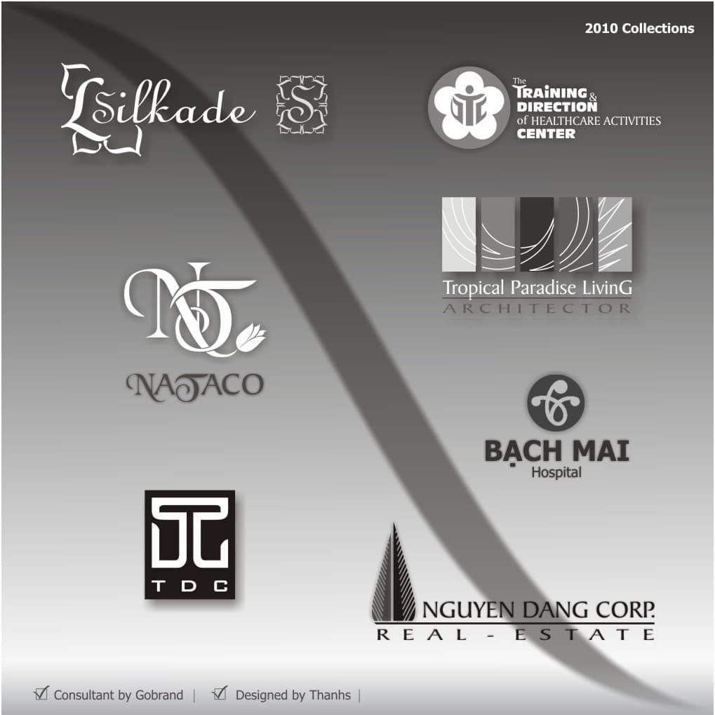 Mẫu thiết kế logo tiêu biểu 2010 của Công ty Thanhs