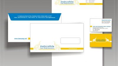 Sáng tạo Slogan, thiết kế nhận diện thương hiệu Công ty CP Bảo hiểm Lanexang Assurance