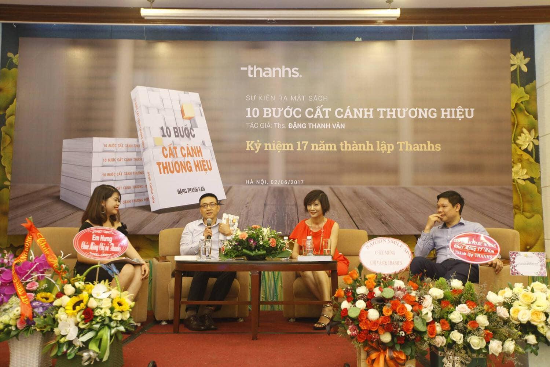 Hội thảo ra mắt sách về quy trình xây dựng thuương hiệu của Tác giả Đặng Thanh Vân