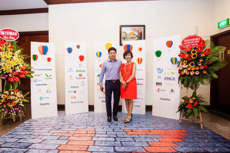 Kỷ niệm 17 năm thành lập công ty Thương hiệu và Quản trị Thanhs