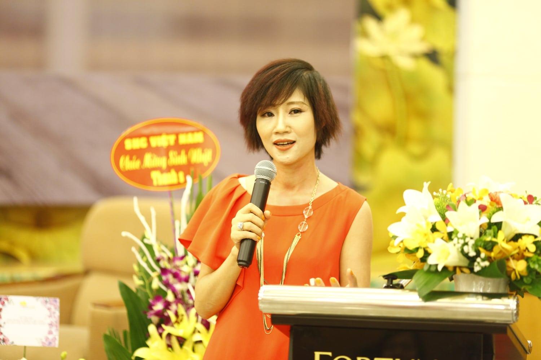 Tác giả Đặng Thanh Vân, đồng thời cũng là chuyên gia tư vấn chiến lược thương hiệu và tổng giám đốc công ty Thanhs chia sẻ cảm xúc tại sự kiện