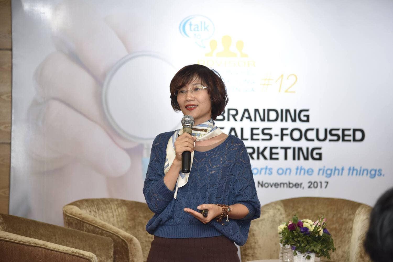 Chuyên gia Đặng Thanh Vân chia sẻ phần Tư vấn chiến lược Thương hiệu - Marketing cho bệnh viện Bắc Hà