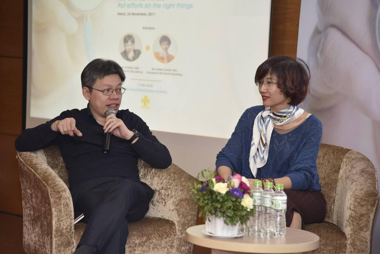 Ông Lê Quốc Vinh tư vấn chiến lược Thương hiệu - Marketing cho bệnh viện Bắc Hà