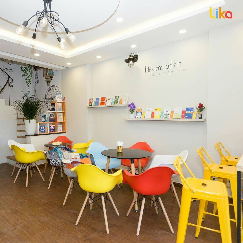 Hình ảnh nhận diện Chuỗi Cafe Sách Lika