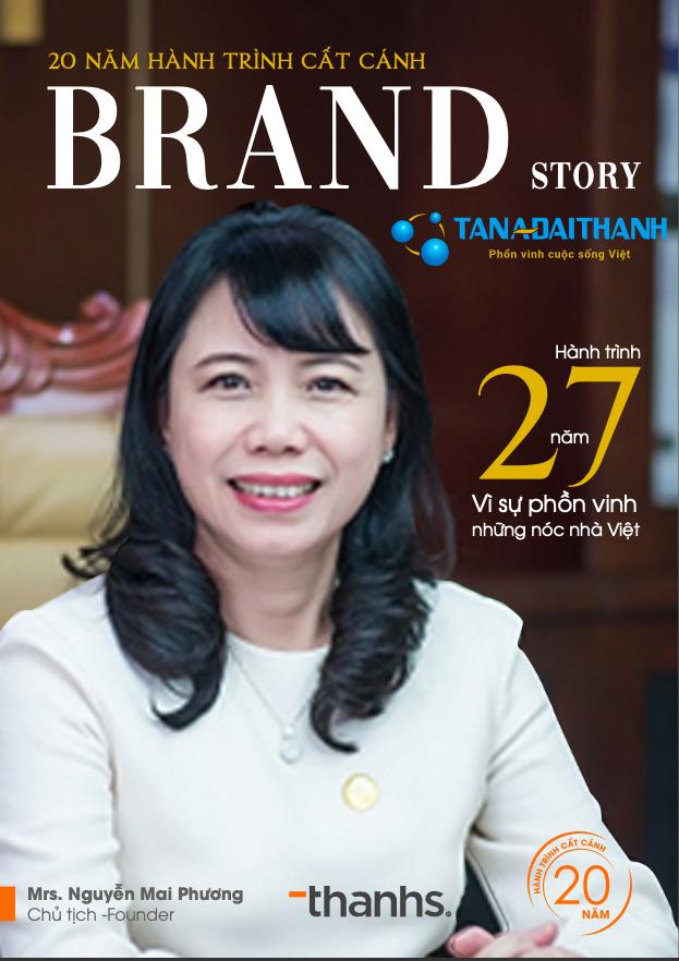Câu chuyện thương hiệu Tân Á Đại Thành