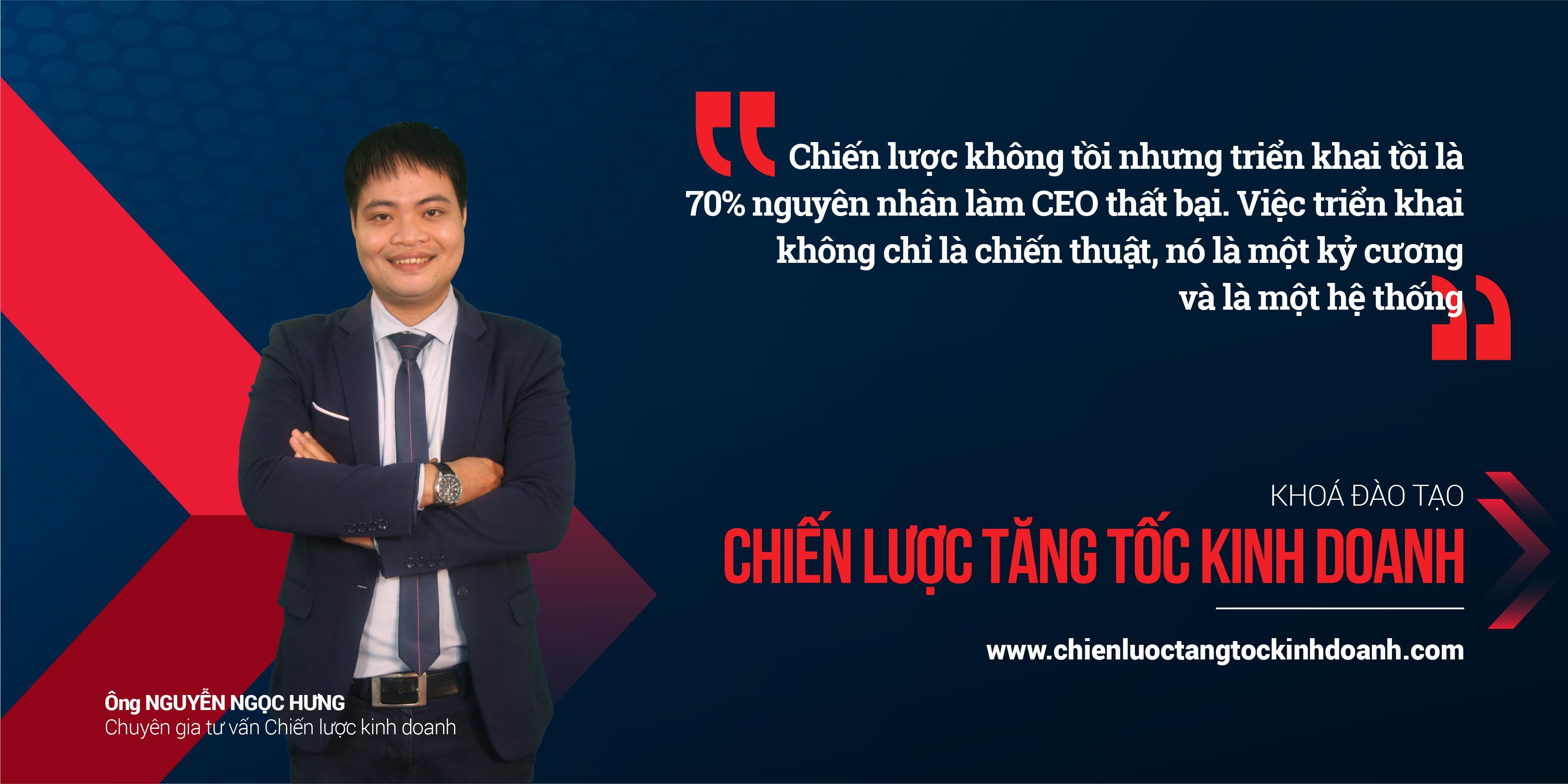Chuyên gia Nguyễn Ngọc Hưng - Chiến lược Tăng tốc kinh doanh GHB - Thanhs