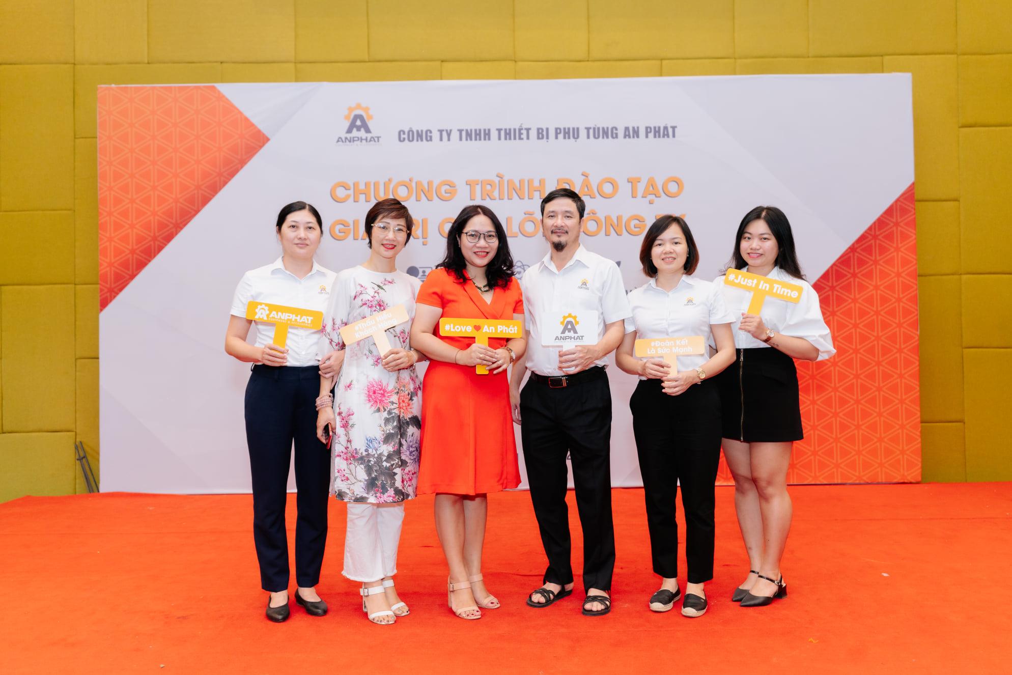 Chương trình đào tạo Văn hóa doanh nghiệp - Giá trị cốt lõi dành cho công ty An Phát tổ chức bởi Thanhs