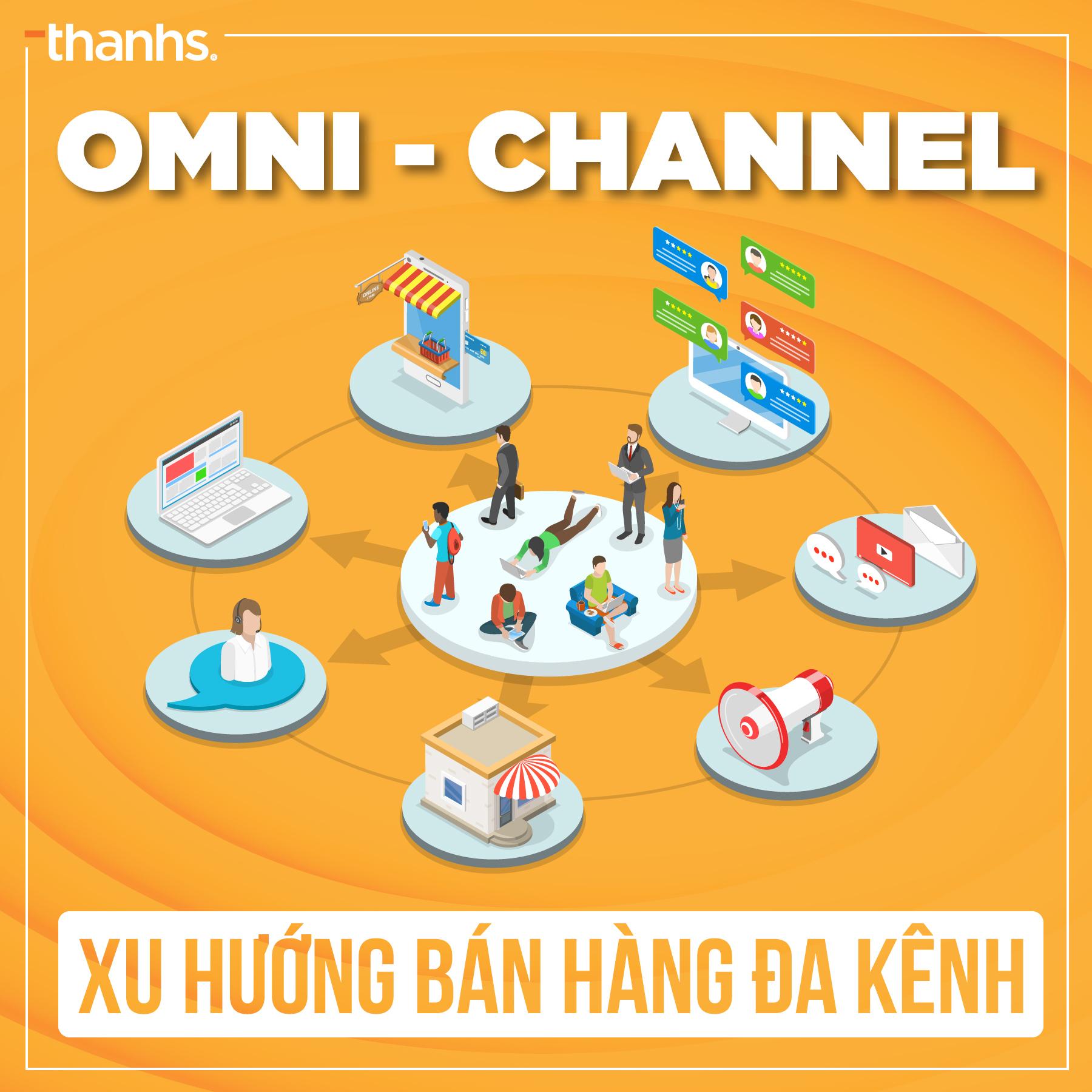 Omnichannel - Xu hướng bán hàng đa kênh