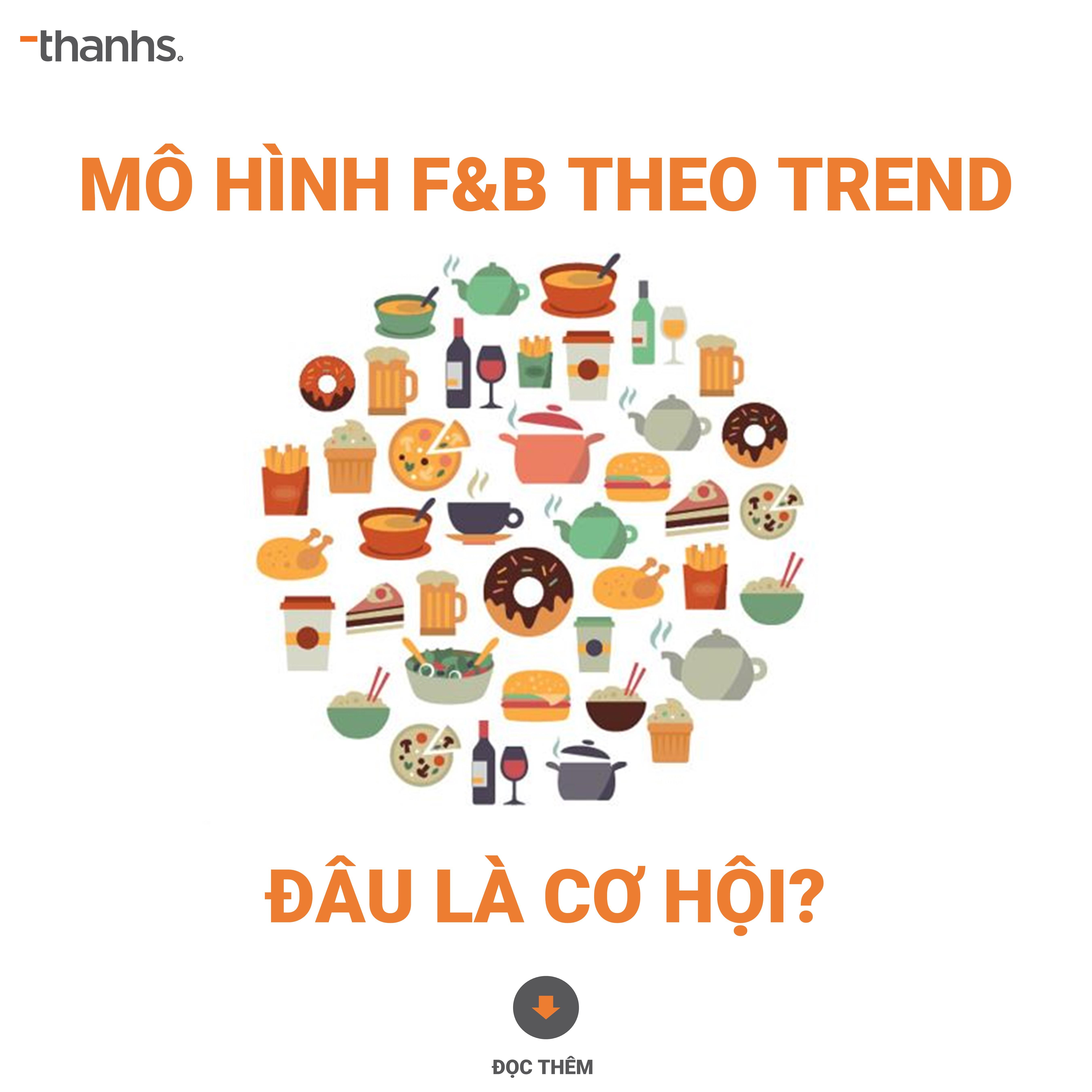 Mô hình F&B theo trend