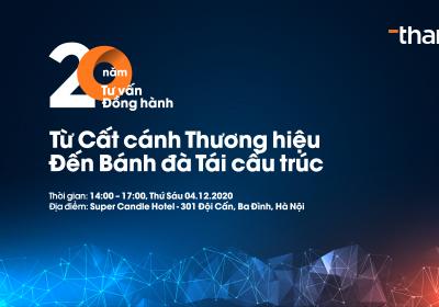 Lễ kỷ niệm 20 năm Tư vấn - Đồng hành cùng doanh nghiệp Việt