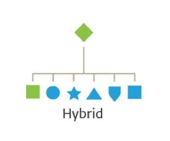 Mô hình kiến trúc thương hiệu Hybrid