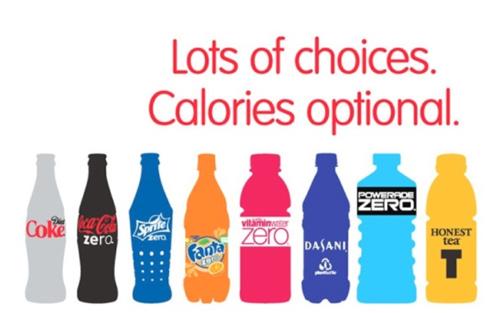 Coca-Cola tiêu biểu cho kiểu kiến trúc thương hiệu Hybrid