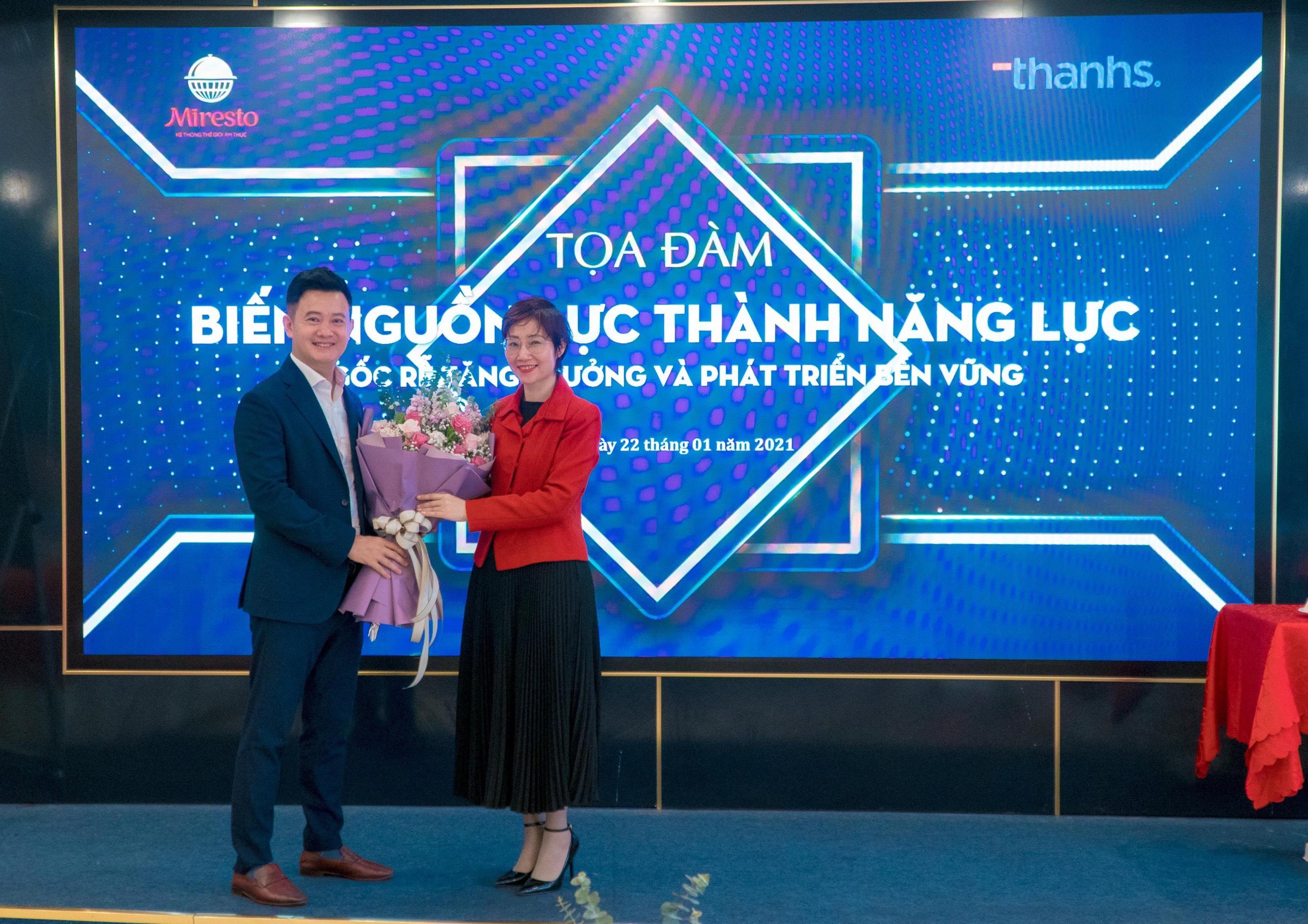 Chuyên gia Đặng Thanh Vân trong tọa Đàm