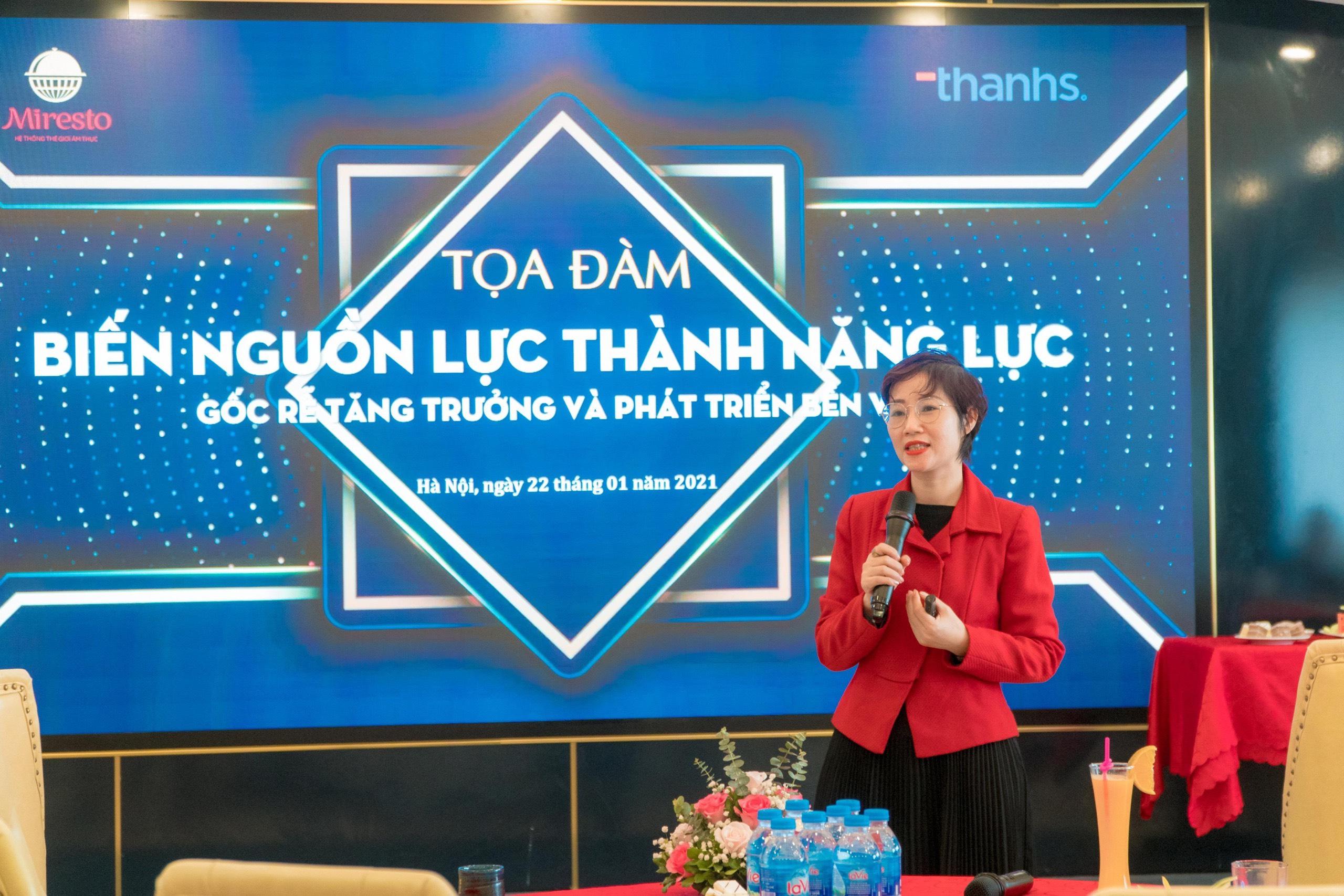 Chuyên gia Đặng Thanh Vân đã trình bày những kiến giải hoàn toàn mới về gốc rễ của sự tăng trưởngChuyên gia Đặng Thanh Vân đã trình bày những kiến giải hoàn toàn mới về gốc rễ của sự tăng trưởng