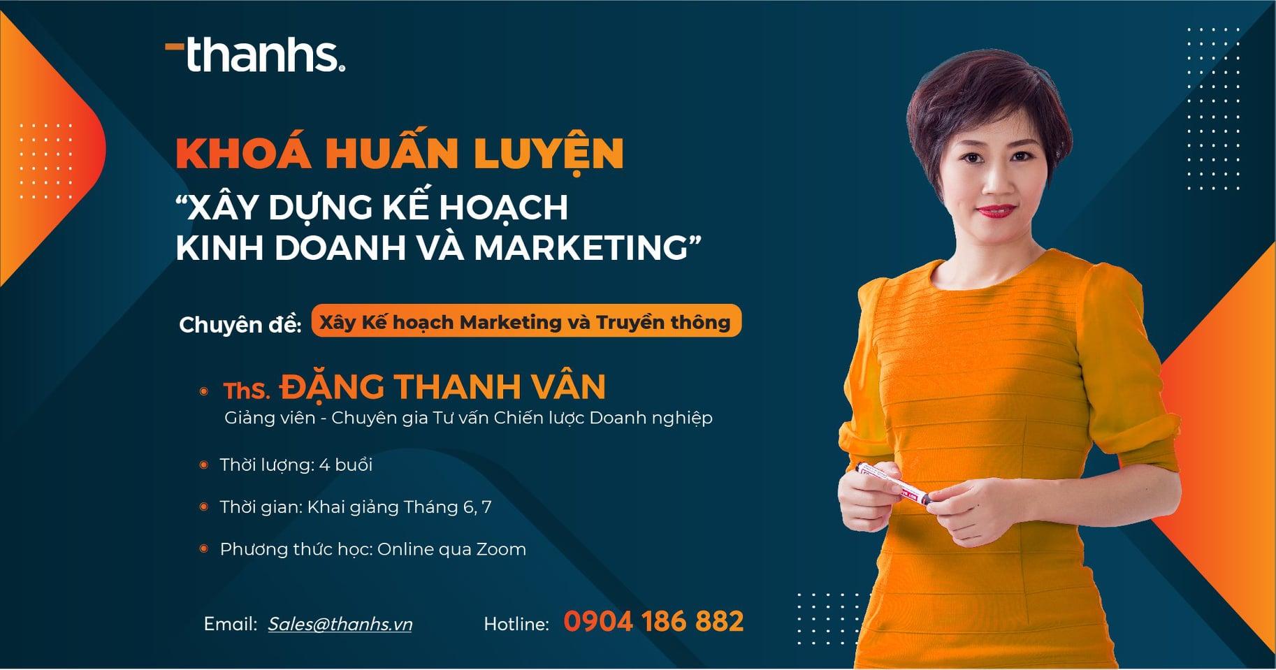Khoá huấn luyện Xây dựng Kế hoạch Kinh doanh - Marketing dành cho doanh nghiệp vừa và nhỏ
